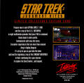 Star Trek: Judgment Rites (Limited CD-ROM Collector's Edition) DOS Other Game Disc Jewel Case - Back