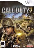 Call of Duty 3 Wii Front Cover