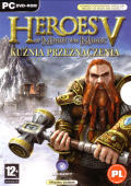 Heroes of Might and Magic V: Hammers of Fate Windows Front Cover