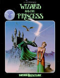 Hi-Res Adventure #2: The Wizard and the Princess Atari 8-bit Front Cover
