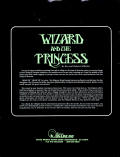 Hi-Res Adventure #2: The Wizard and the Princess Atari 8-bit Back Cover