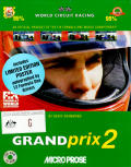 Grand Prix II DOS Front Cover