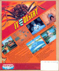 It Came from the Desert Amiga Back Cover