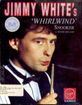 Jimmy White's 'Whirlwind' Snooker Amiga Front Cover