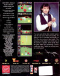 Jimmy White's Whirlwind Snooker Amiga Back Cover