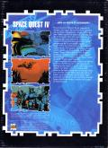 Space Quest IV: Roger Wilco and the Time Rippers DOS Back Cover