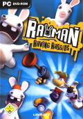 Rayman Raving Rabbids Windows Front Cover