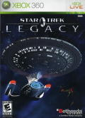 Star Trek: Legacy Xbox 360 Front Cover