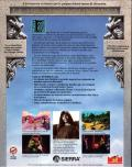 King's Quest VI: Heir Today, Gone Tomorrow DOS Back Cover