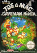 Joe & Mac: Caveman Ninja NES Front Cover