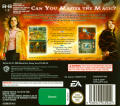 Harry Potter and the Goblet of Fire Nintendo DS Back Cover