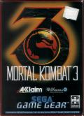 Mortal Kombat 3 Game Gear Front Cover
