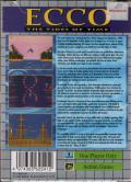 Ecco: The Tides of Time Game Gear Back Cover