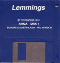Lemmings Amiga Media Disk 1/2