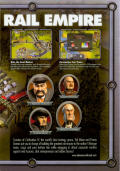 Sid Meier's Railroads! Windows Inside Cover Right Flap