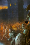 Dark Age of Camelot: Epic Edition Windows Front Cover Right Flap