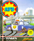 APB Commodore 64 Front Cover