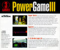 Power Game III DOS Other Jewel Case - Back