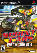 Sprint Cars: Road to Knoxville PlayStation 2 Front Cover