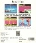 Wonder Boy III: Monster Lair TurboGrafx CD Back Cover The back of the outer cardboard box.