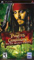 Pirates of the Caribbean: Dead Man's Chest PSP Front Cover