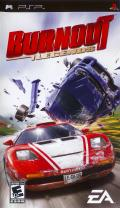 Burnout Legends PSP Front Cover