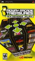 Midway Arcade Treasures: Extended Play PSP Front Cover