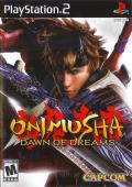 Onimusha: Dawn of Dreams PlayStation 2 Front Cover