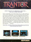 Trantor the Last Stormtrooper DOS Back Cover