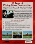 A-10 Tank Killer Amiga Back Cover