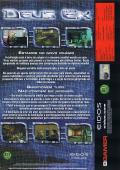 Deus Ex: Game of the Year Edition Windows Back Cover