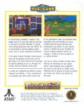 Pac-Land Lynx Back Cover