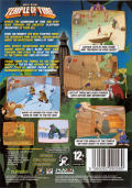Billy Blade: Temple of Time Windows Back Cover