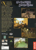 Neverwinter Nights: Shadows of Undrentide Windows Back Cover