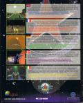 Starfighter 3000 DOS Back Cover