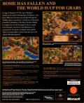 Age of Empires II: The Age of Kings Windows Back Cover