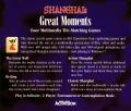 Shanghai: Great Moments Windows 3.x Other Jewel Case - Back