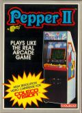 Pepper II ColecoVision Front Cover