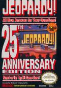 Jeopardy! 25th Anniversary Edition NES Front Cover