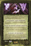 World of Warcraft: The Burning Crusade (Collector's Edition) Macintosh Other Keep Case (Making-of) - Back