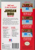 Jordan vs Bird: One on One NES Back Cover