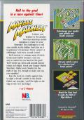 Marble Madness NES Back Cover