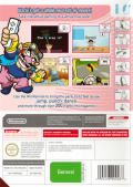 WarioWare: Smooth Moves Wii Back Cover