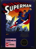 Superman NES Front Cover