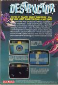 Destructor ColecoVision Back Cover