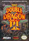 Double Dragon III: The Sacred Stones NES Front Cover