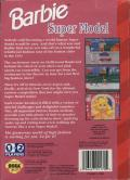 Barbie Super Model Genesis Back Cover