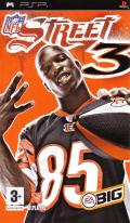 NFL Street 3 PSP Front Cover