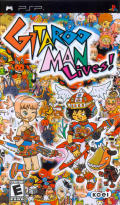 Gitaroo Man Lives! PSP Front Cover