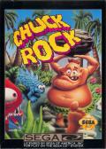 Chuck Rock SEGA CD Front Cover